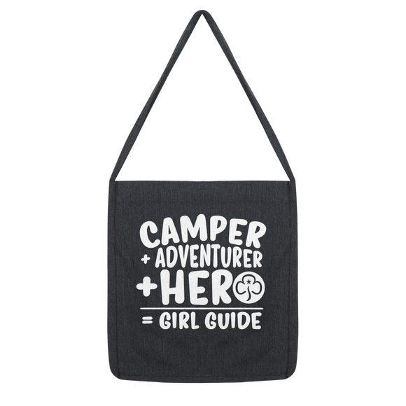 Camper + Adventurer + Hero = Girl Guide Classic Tote Bag
