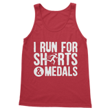 I Run For Shirts And Medals Classic Women's Tank Top