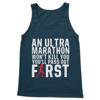 An Ultra Marathon Won't Kill You Male Runner Classic Adult Tank Top