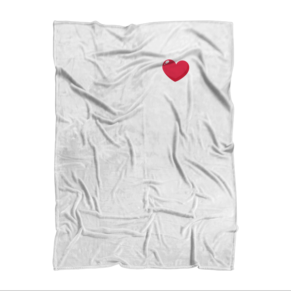 My Heart Was Made To Run Sublimation Adult Blanket
