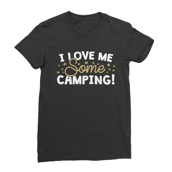 I Love Me Some Camping Premium Jersey Women's T-Shirt