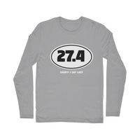 27.4 Sorry I Got Lost Classic Long Sleeve T-Shirt