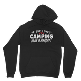 If She Loves Camping She's a Keeper! Classic Adult Hoodie