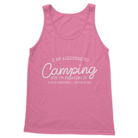 I Am Addicted To Camping But I'm Treating it I Go To Meetings... In The Woods Classic Women's Tank Top