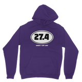 27.4 Sorry I Got Lost Classic Adult Hoodie