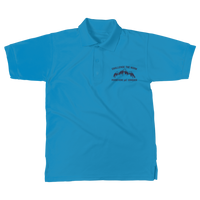Challenge The Norm Blue Logo Classic Women's Polo Shirt
