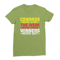 Winners Never Quit Classic Women's T-Shirt