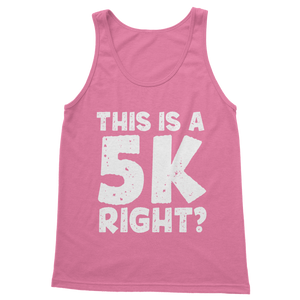 This Is A 5k Right? Classic Women's Tank Top