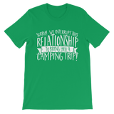 Sorry We Interrupt This Relationship To Bring You A Camping Trip Classic Kids T-Shirt