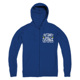 The Weak Need Not Apply Being a Scout Leader Aint No 9 to 5 Premium Adult Zip Hoodie