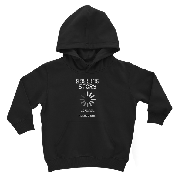 Bowling Story Loading... Please Wait Classic Kids Hoodie