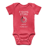 Fishing Story Loading... Please Wait Classic Baby Onesie Bodysuit