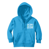 The Weak Need Not Apply Being a Girl Guide Aint No 9 to 5 Classic Kids Zip Hoodie