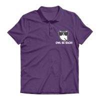Owl Be Back! Premium Adult Polo Shirt
