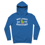 Book Marks are for Quitters! Premium Adult Hoodie