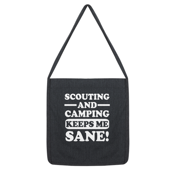 Scouting And Camping Keeps Me Sane Classic Tote Bag
