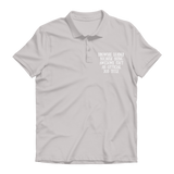 Brownie Leader Because Being Awesome Isn't An Official Job Title Guide Premium Adult Polo Shirt