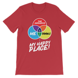 Books is My Happy Place Classic Kids T-Shirt