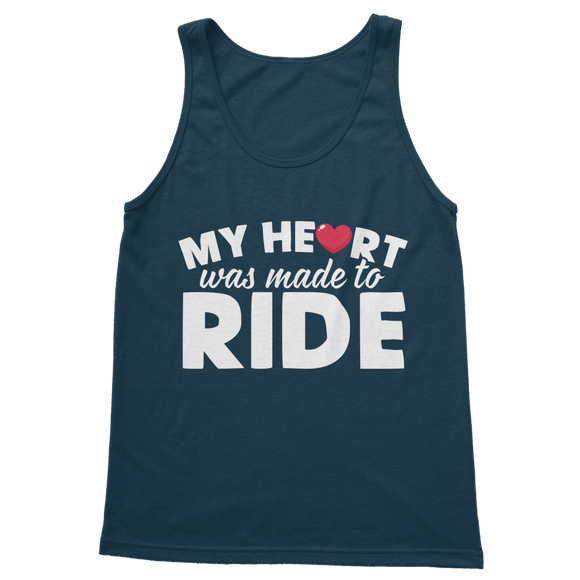 My Heart Was Made To Ride Classic Adult Tank Top