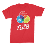 Cycling is My Happy Place Premium Jersey Men's T-Shirt