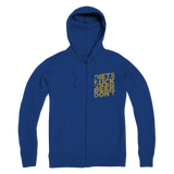 Diets Suck Beer Don't Premium Adult Zip Hoodie