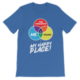 Cycling is My Happy Place Classic Kids T-Shirt