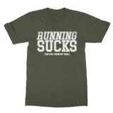 Running Sucks The Evil From My Soul Classic Adult T-Shirt
