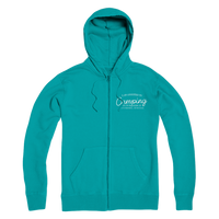 I Am Addicted To Camping But I'm Treating it I Go To Meetings... In The Woods Premium Adult Zip Hoodie