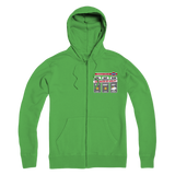 Weekend Weather Sunny With a Chance of Golf? Premium Adult Hoodie