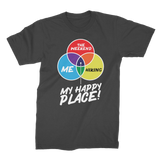 Hiking is My Happy Place Premium Jersey Men's T-Shirt