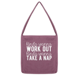 Kinda Wanna Work Out Kinda Wanna Take A Nap Classic Tote Bag