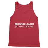 Brownie Leader (So Yeah, I'm Busy!) Guide Classic Women's Tank Top