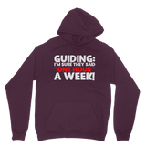 Guiding: I'm Sure They Said One Hour A Week! Guide Classic Adult Hoodie