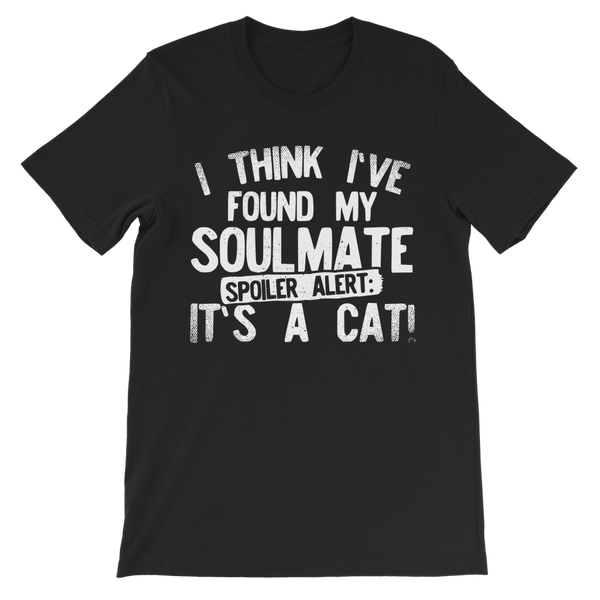 I Think Ive Found My Soulmate Spoiler Alert its a Cat Premium Kids T-Shirt