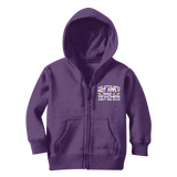 The Weak Need Not Apply Being a Teacher Aint No 9 to 5 Classic Kids Zip Hoodie