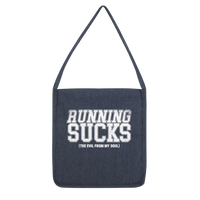 Running Sucks The Evil From My Soul Classic Tote Bag
