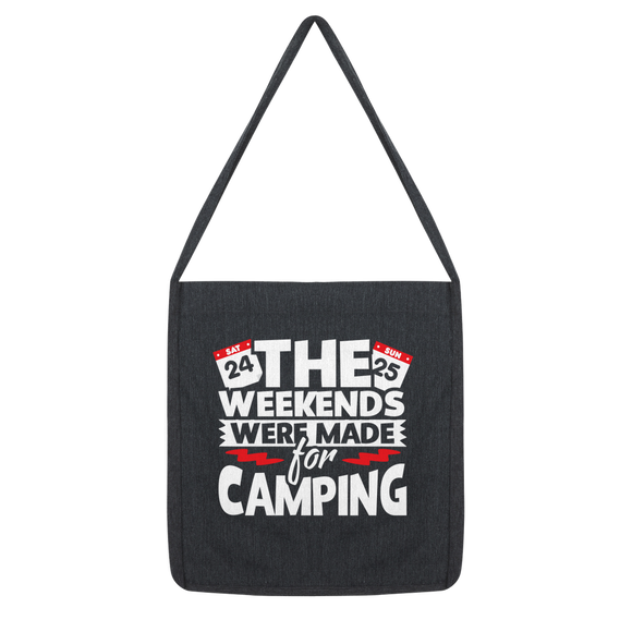 The Weekends Were Made For Camping Classic Tote Bag