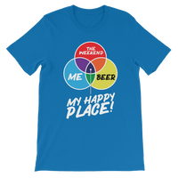 Beer is My Happy Place Premium Kids T-Shirt