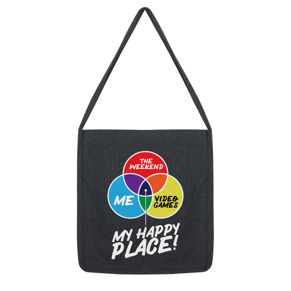 Video Games is My Happy Place Classic Tote Bag