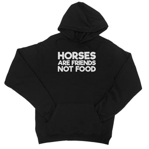 Horses are friends College Hoodie