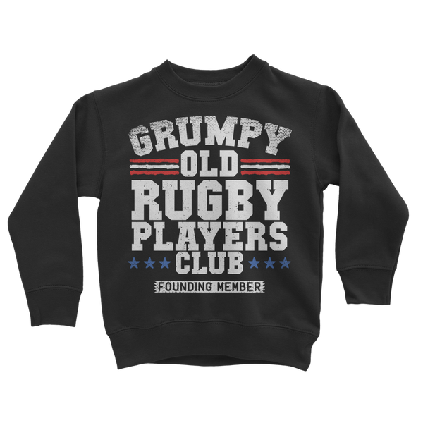 Grumpy Old Rugby Club Founding Member Classic Kids Sweatshirt