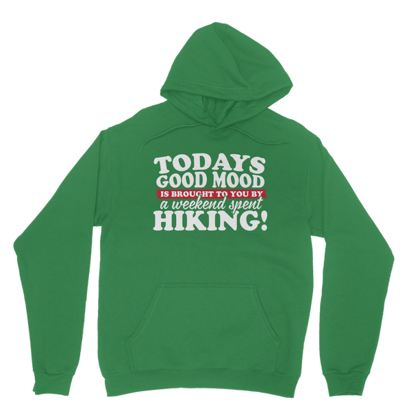 Good Mood Weekend Hiking Classic Adult Hoodie