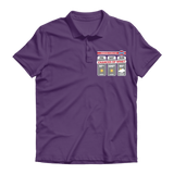 Weekend Weather Sunny With a Chance of Wine? Premium Adult Polo Shirt