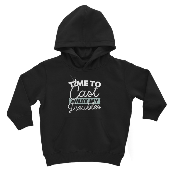 Time To Cast Away My Troubles Classic Kids Hoodie
