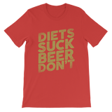 Diets Suck Beer Don't Premium Kids T-Shirt