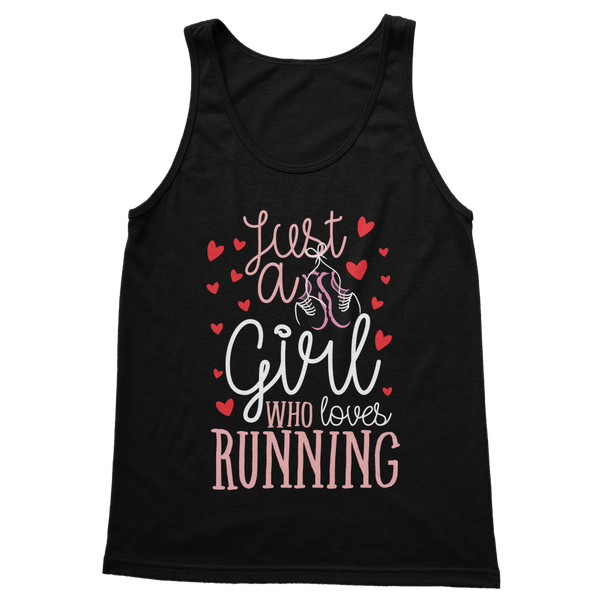 Just A Girl Who Love Running Classic Women's Tank Top