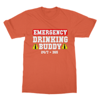 Emergency Drinking Buddies  Classic Adult T-Shirt