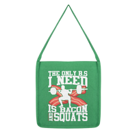 Bacon and Squats Male Classic Tote Bag