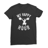 My Happy Hour Weightlifting Classic Women's T-Shirt