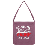 Running Each Day Keeps The Grump At Bay Classic Tote Bag